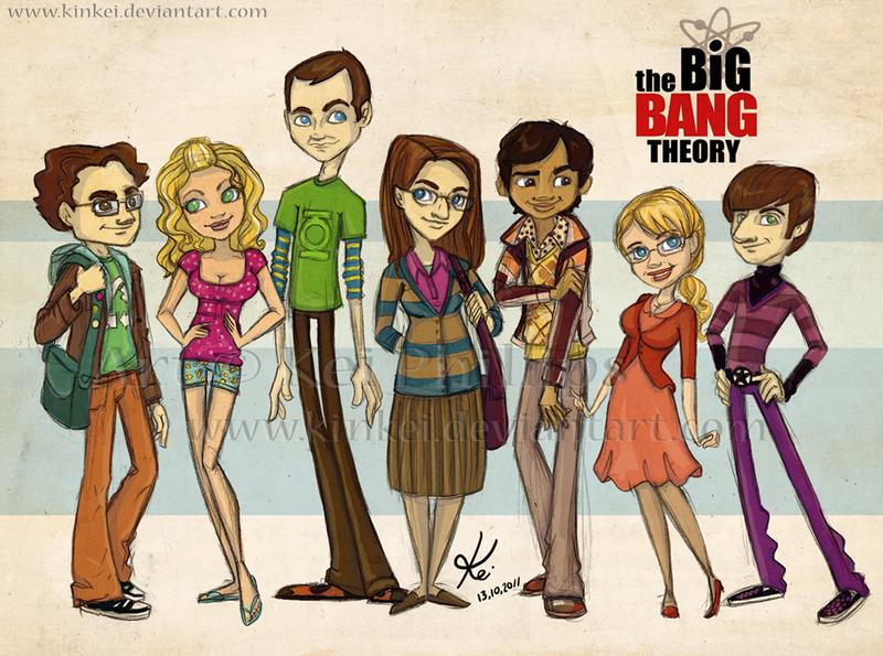 the Big Bang Theory by kinkei