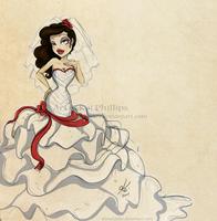 Wedding dress by kinkei