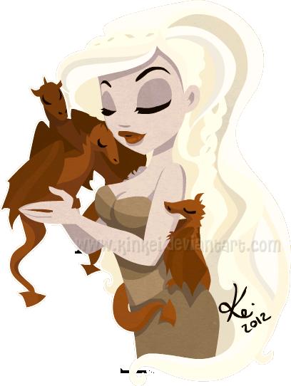 Daenerys by kinkei