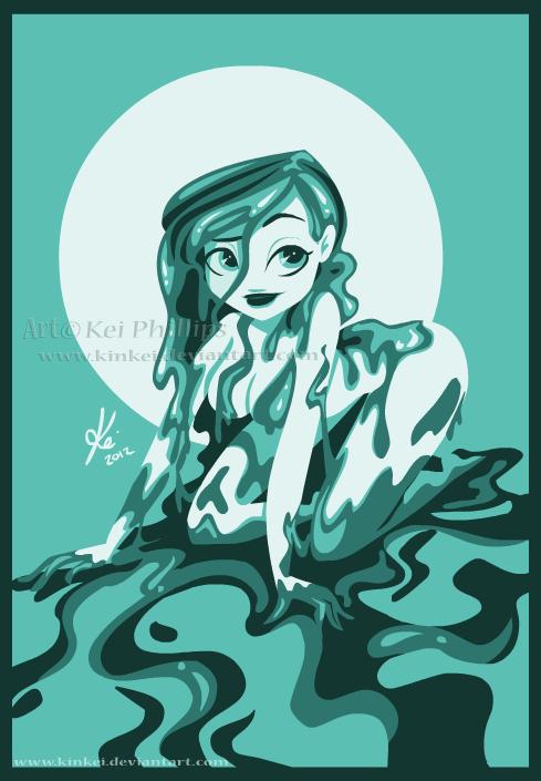 Monster girl Slime by kinkei