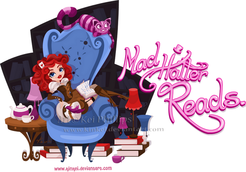 Mad Hatter Reads by kinkei