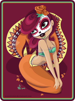 skull candy mermaid