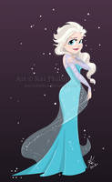 snow queen by kinkei