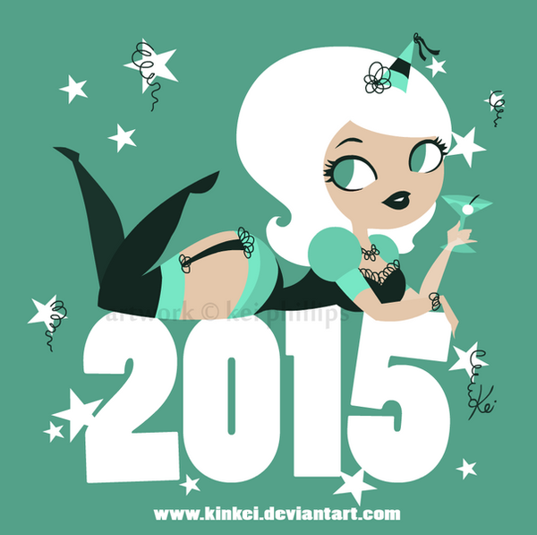 Happy 2015 by kinkei