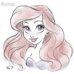 Ariel by kinkei