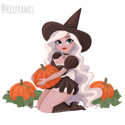 Pumpkin spiced pinup