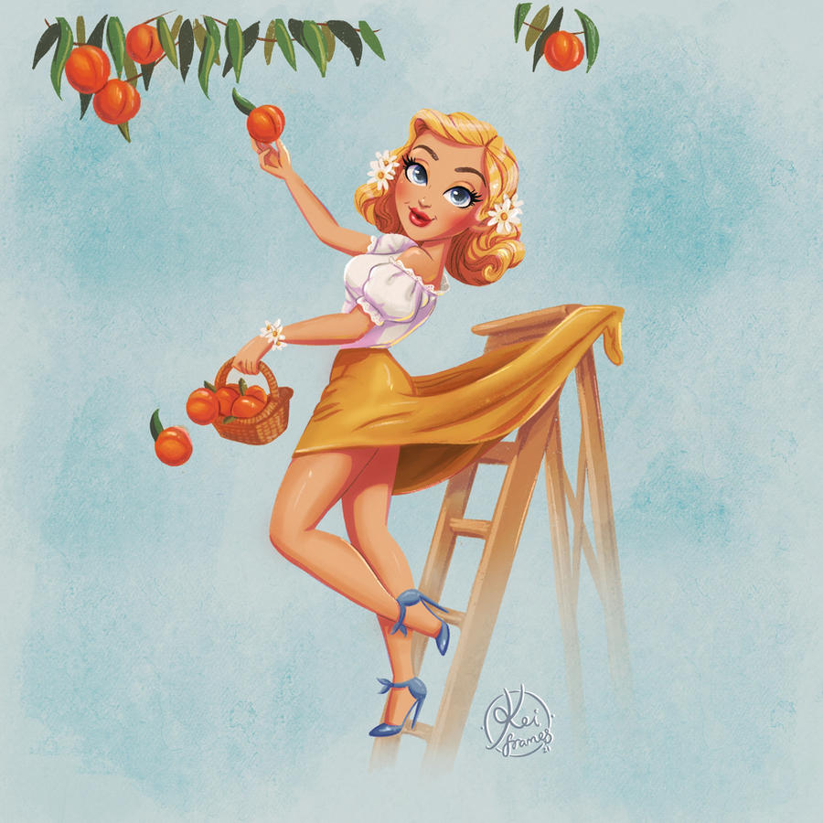 Kinkei peaches