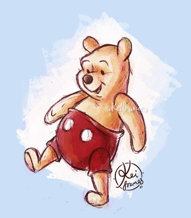 Pooh shorts