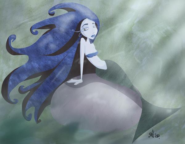 mermaid by kinkei
