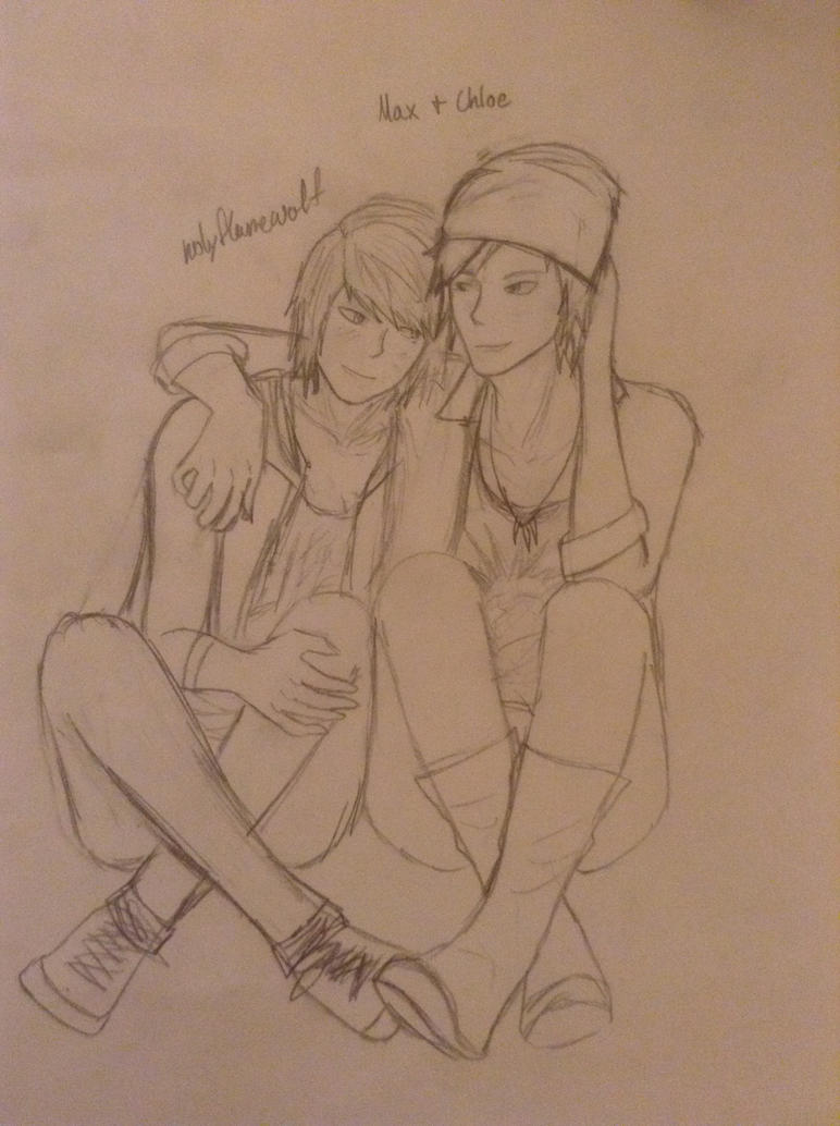 Max and Chloe 1 by holyflamewolf
