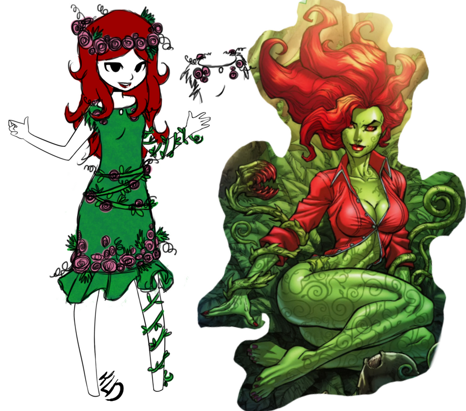 poison Ivy - design concept by massacremarie18