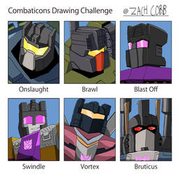 Combaticons Drawing Challenge