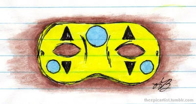 Party Poison's Mask by THEEPICARTIST8
