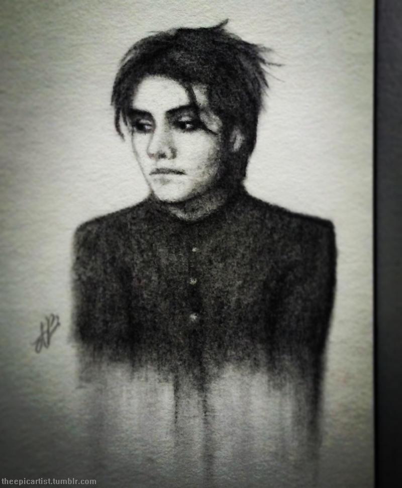 Gerard Way by THEEPICARTIST8
