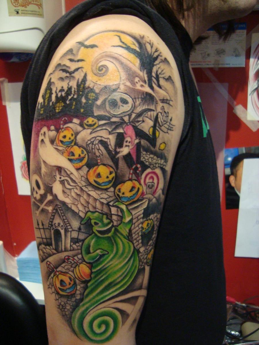 Nightmare before christmas tattoo by Emerica86 on DeviantArt