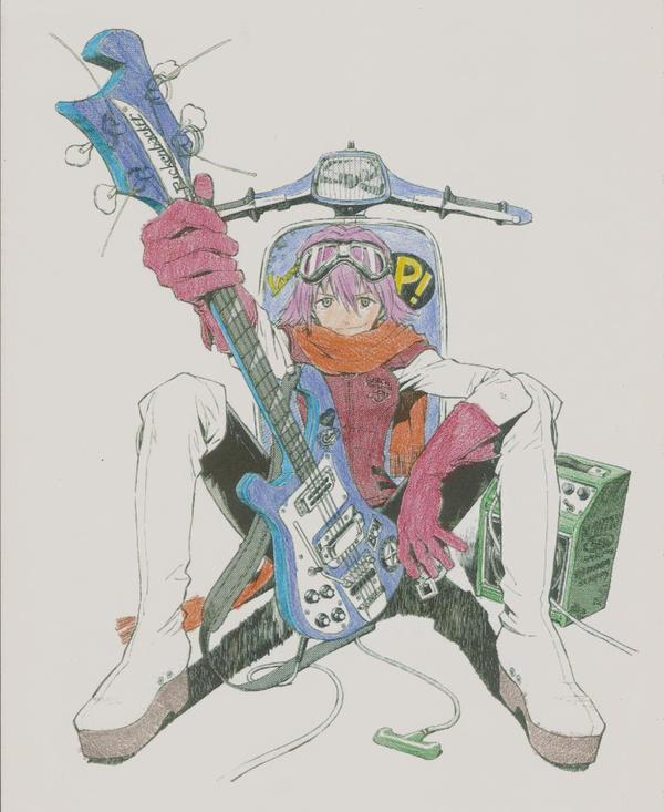 Haruko by Knightdrop