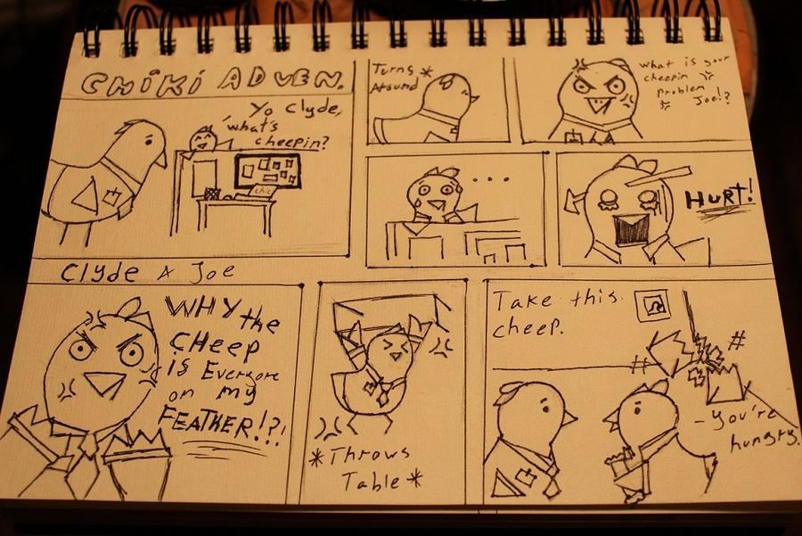 My Chiki Adven. Comics. by Knightdrop