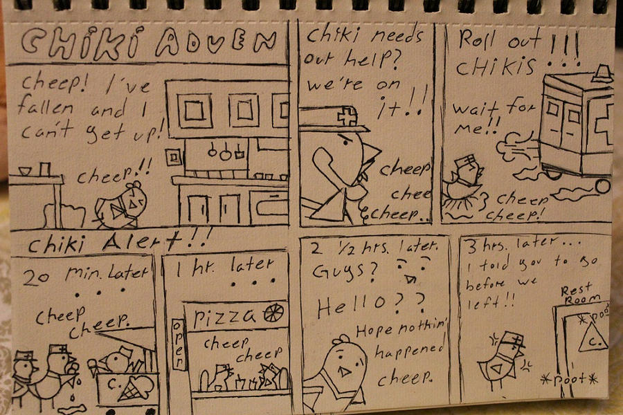 Ckiki Adven Chiki alert!! by Knightdrop