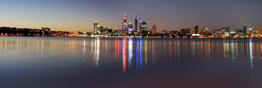 Sunset of Perth