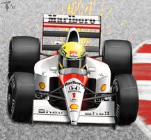McLaren MP4-6 Senna by Pigeon-Capsule