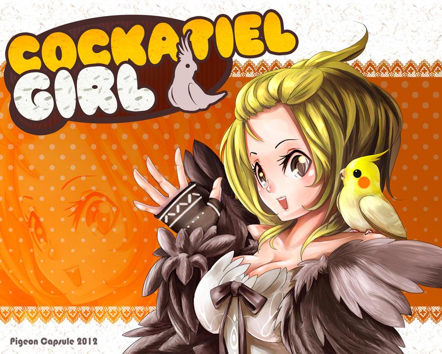 Cockatiel girl by Pigeon-Capsule on DeviantArt