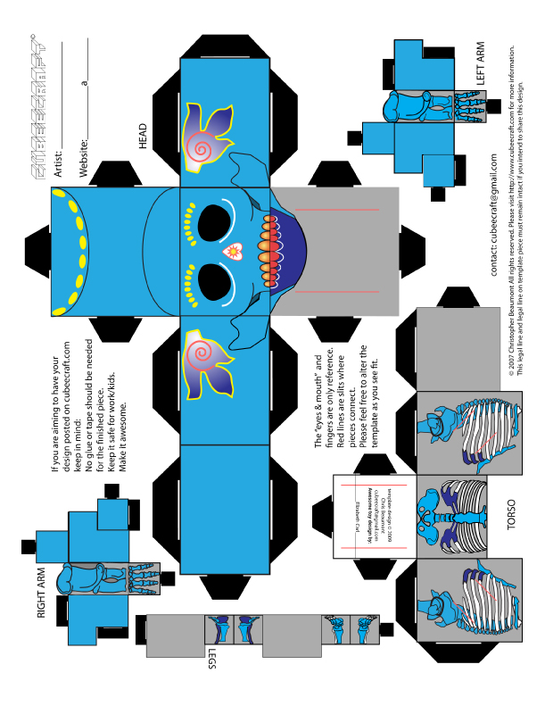 It is a graphic of Persnickety Cubee Craft Template