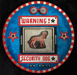 Warning - Security Dog