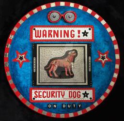 Warning - Security Dog