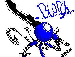 Blotch -BluHero by ThaBrokenSword