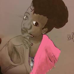 Half Half by Mbinguni-Mikono