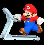 Mario on Treadmill