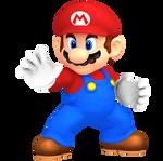 Mario Super Smash Bros. Brawl Pose