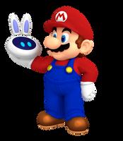 Mario and Beep-O by Nintega-Dario