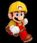 Builder Mario Render (Super Mario Maker)