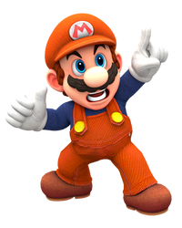 Jumpman Redone Pose Odyssey Render (Classic Mario) by Nintega-Dario