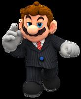 Mario The Godfather Render by Nintega-Dario