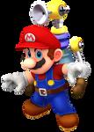 Mario Sunshine Odyssey Render