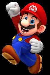 Mario Jump 2 Render by Nintega-Dario