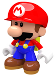 Mini Mario Toy Render