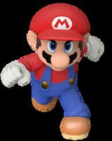 Super Smash Bros. Mario Render by Nintega-Dario