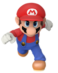 Super Smash Bros. Mario Render