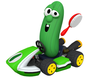 Larry the Cucumber (VeggieKart Promo Render)
