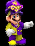Crazy Cap Mario Render