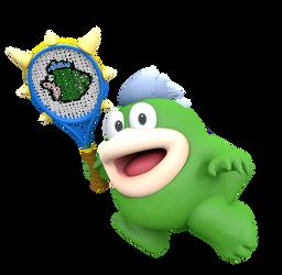 Spike Tennis Aces Render