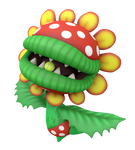 Petey Piranha Tennis Aces Render
