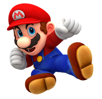 Odyssey Mario: Super Smash Bros. Ultimate Render by Nintega-Dario