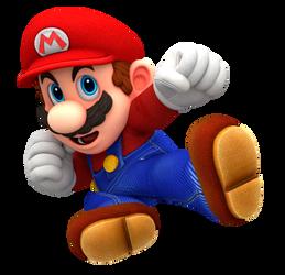 Odyssey Mario: Super Smash Bros. Ultimate Render
