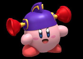 Smash Bros. Ultimate - Kirby LarryBoy Hat Render by Nintega-Dario