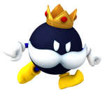 King Bob-Omb Running Render