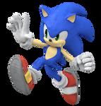 Sonic Super Smash Bros. Ultimate Fan Render